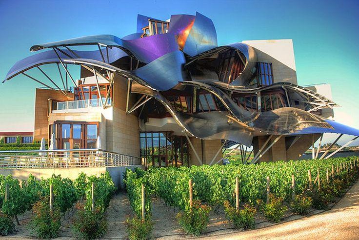 Frank Gehry - Marques de Riscal Hotel Winery - La Rioja Alavesa Spain