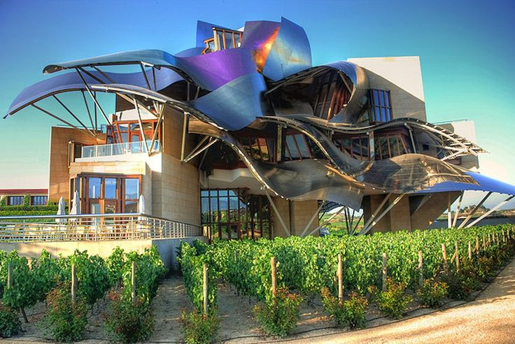 Frank gehry marques de riscal hotel winery la rioja for Design hotels spain