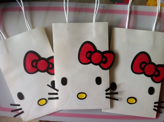Hello Kitty Birthday Party Goody bag