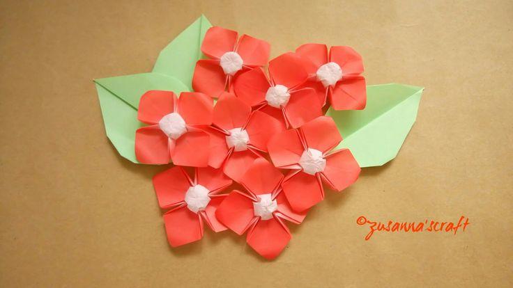 Dogwood Flowers Designed by Makoto Yamaguchi Folded by #zusannascraft