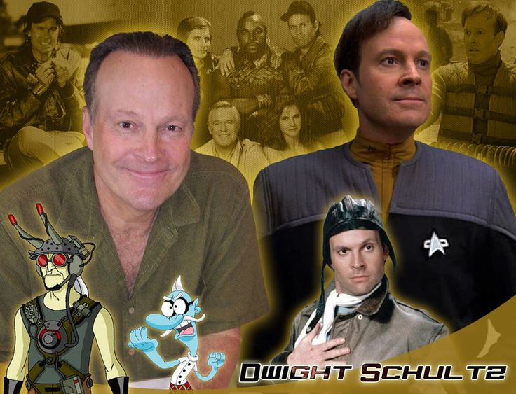 Dwight Schultz. Huuuuuuge vocal range in voice-work; you can drive yourself mad trying to figure out which voices he's playing. Not to mention played Howlin' Mad Murdock and Lt. Barclay.