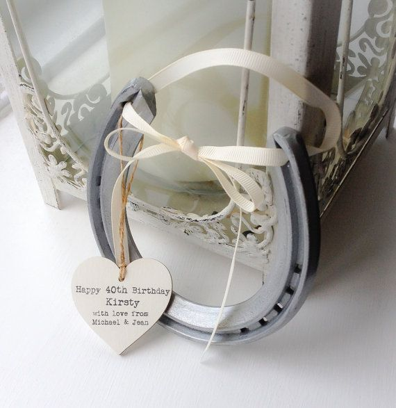 If you are looking for an unusual keepsake to mark a special birthday, engagement or anniversary then what better than a gift of luck with a custom