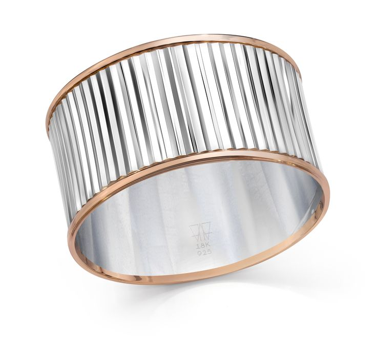 Walters Faith Clive Two Tone Hinged Fluted Bangle It2bZoq