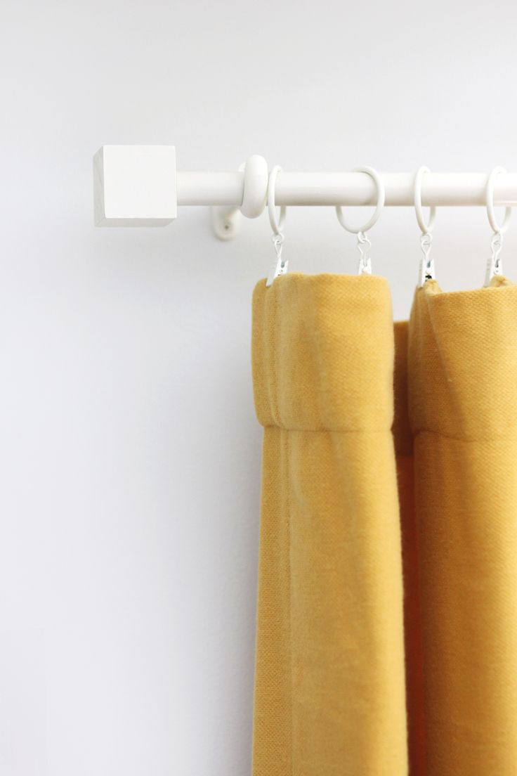 Nautical curtain rod finials - Save Your Dollars For Drapes With This Budget Curtain Rod Finial