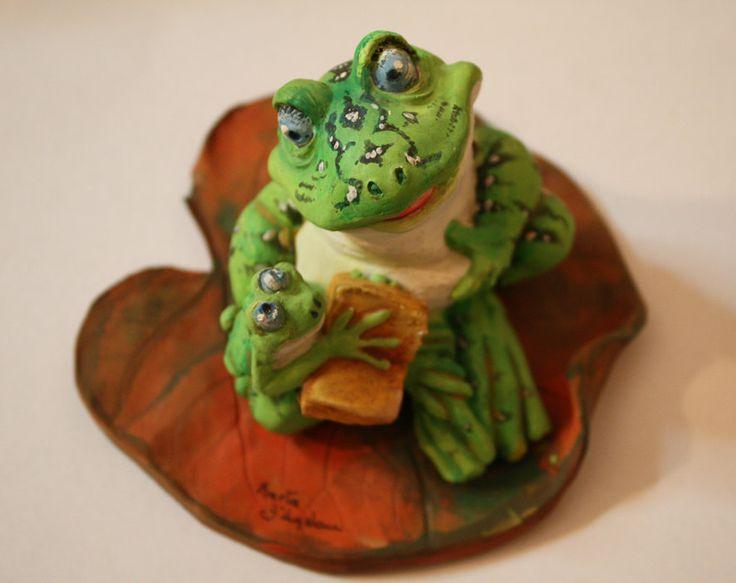 PADRE E FIGLIO ceramica porcellana di atelierdangelone su Etsy