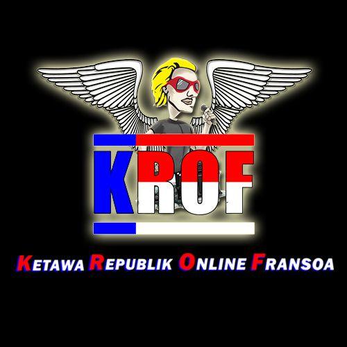 Krof logo made for one of indonesian celebrity named fransoa