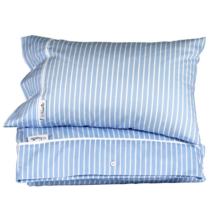 Kensington Stripe Pillowcase, Newport