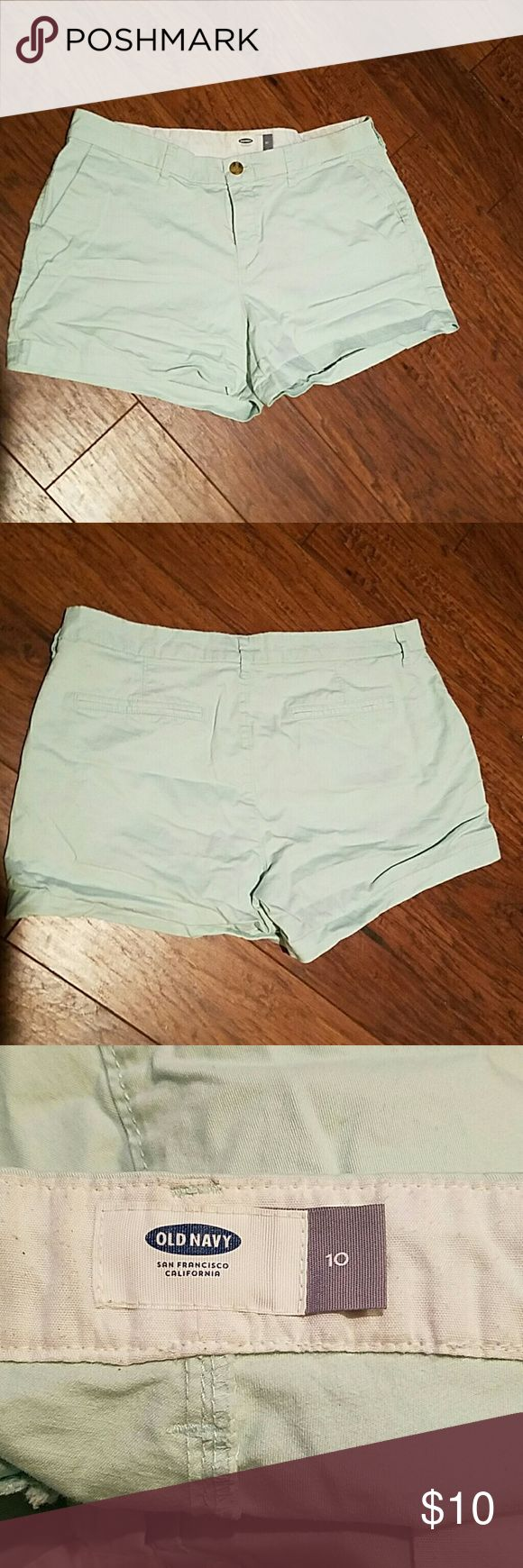 Old Navy Mint Shorts Old Navy Mint shorts. Size 10. Old Navy Shorts