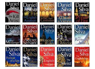 Daniel Silva: creator of Gabriel Allon   Acts of Leadership