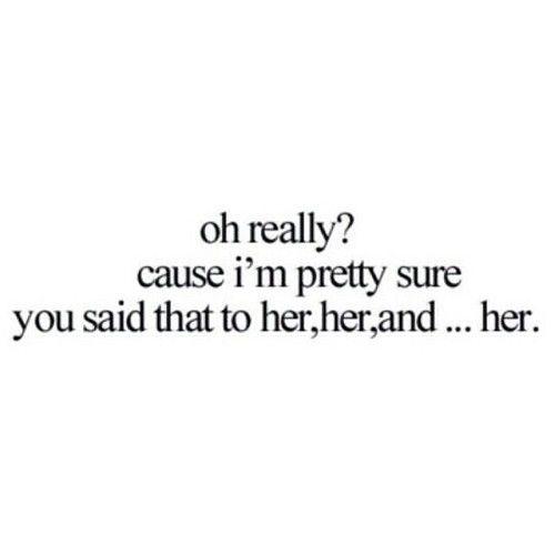 More than one girl  #unloyal