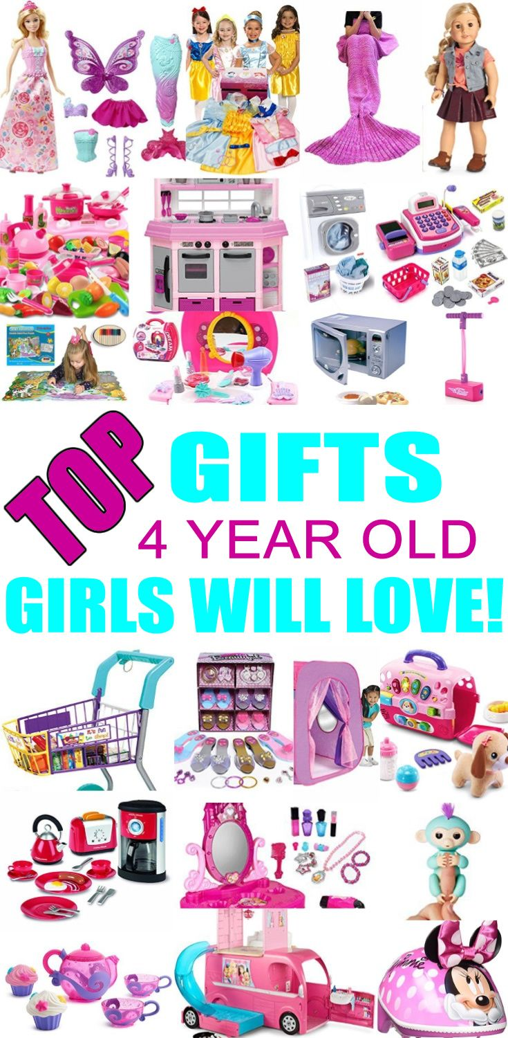 Top Gifts For 4 Year Old Girls Best Gift Suggestions Presents Fourth Birthday Or Christmas Find The Toys A 4th Bday