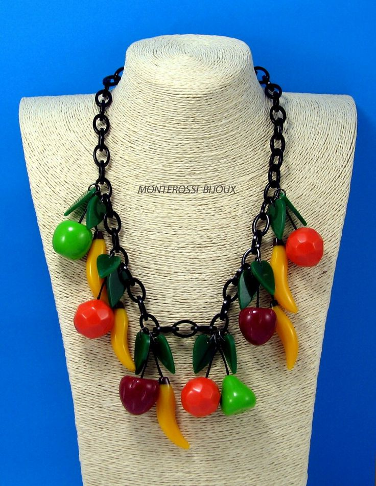 Marion Godart Bakelite Necklace