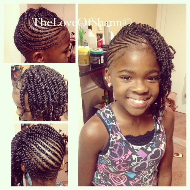 Stupendous 1000 Images About Natural Hairstyles Children On Pinterest Hairstyles For Women Draintrainus