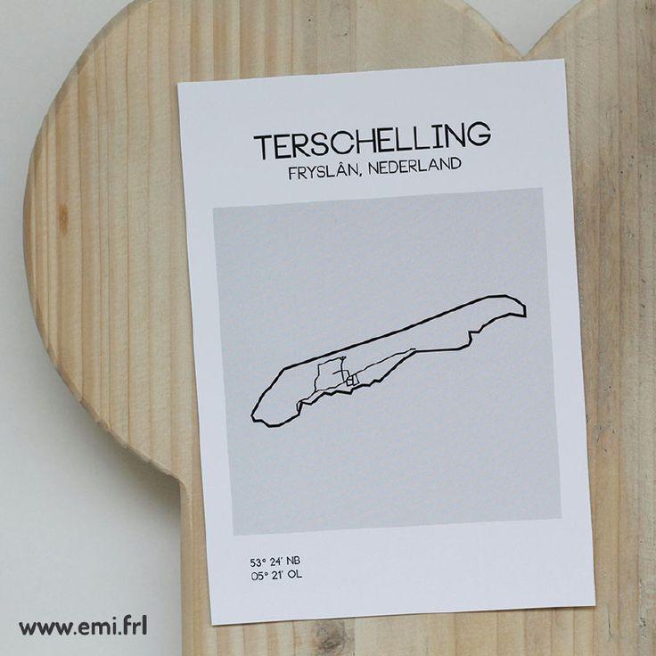 Emi.frl kaart Terschelling