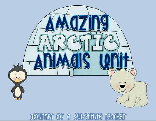 Journey of a Substitute Teacher: Amazing Arctic Animals
