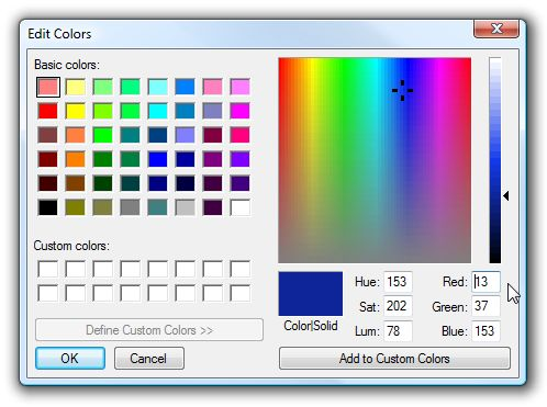 Stupid Geek Tricks: Figure Out HTML Color Codes from Decimal RGB Colors (Like MS Paint Uses) - How-To Geek