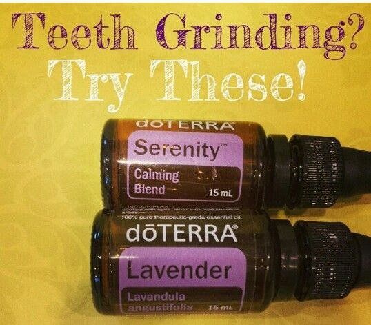 Teeth Grinding.  I need to try!  Cheaper than a $100 mouth guard :-)