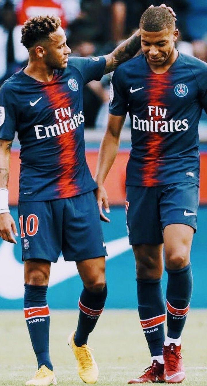Neymar Y Mbappe Mbappe Neymar Fussball Frauen
