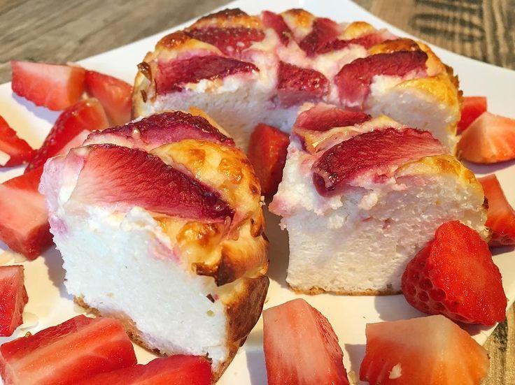 Protein kuchen mit magerquark