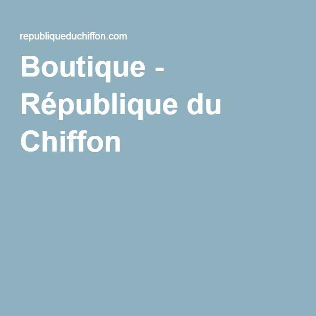 République du Chiffon