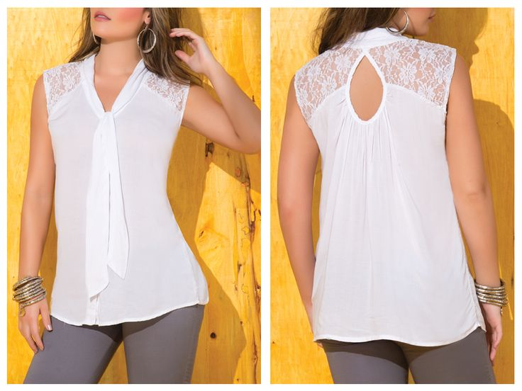 blusas juveniles de moda transparentes - Buscar con Google                                                                                                                                                                                 Más
