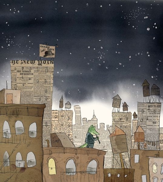 Herman and Rosie - fantastic use of other texts like newspapers to create illustrations. Wonderful book