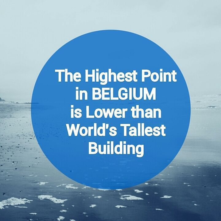Signal de Botrange on the High Fens plateau is 694m and Dubai's Burj Khalifa 828m  #didyouknowtravel #didyouknowbelgium #belgium #signaldebotrange #burjkhalifa #highestpoint #travel #traveling #traveltheworld #travelmagazine #wanderlust  #travelgram #mytravelgram
