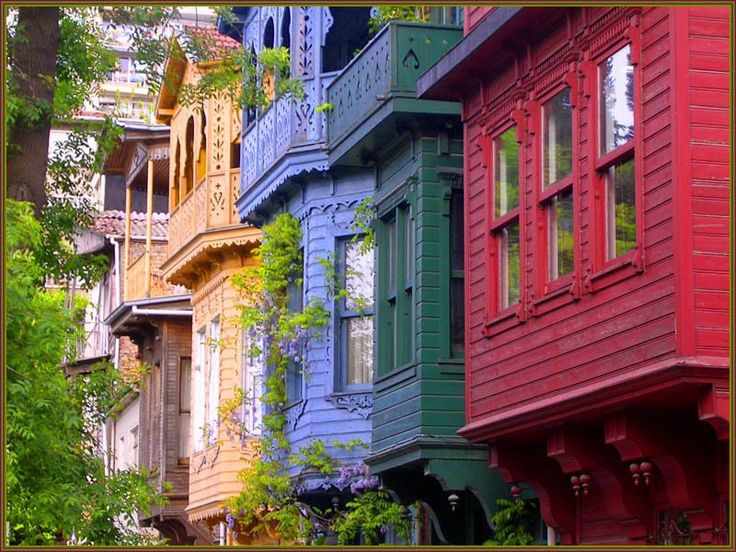 Renovated old homes in Uskudar/Istanbul