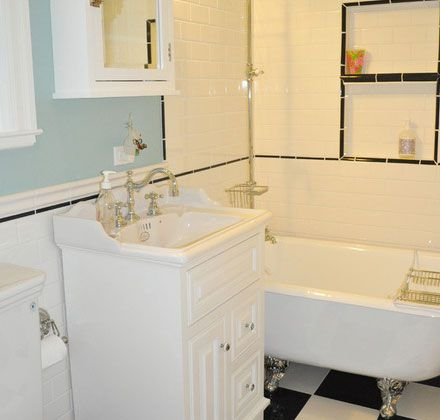 Click pic for 30 small bathroom ideas on a budget claw for Bathroom ideas for small spaces on a budget