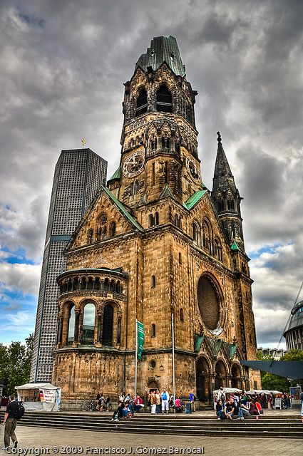 Gedächtniskirche Berlin Germany - I have no idea how to say this or what it even is, but I'd like to see it!
