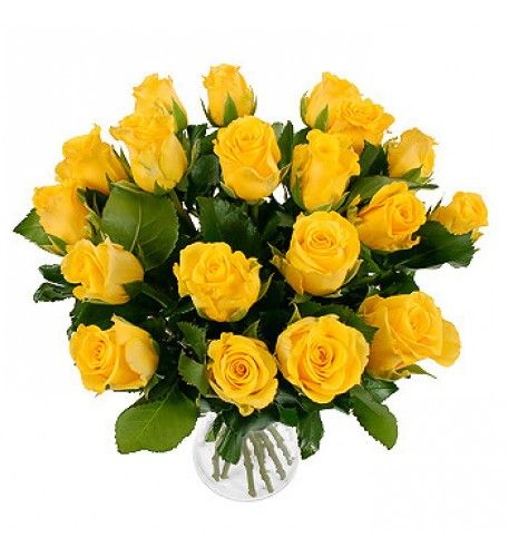 Beautiful collection of 20 yellow roses.which is best to say thank you.