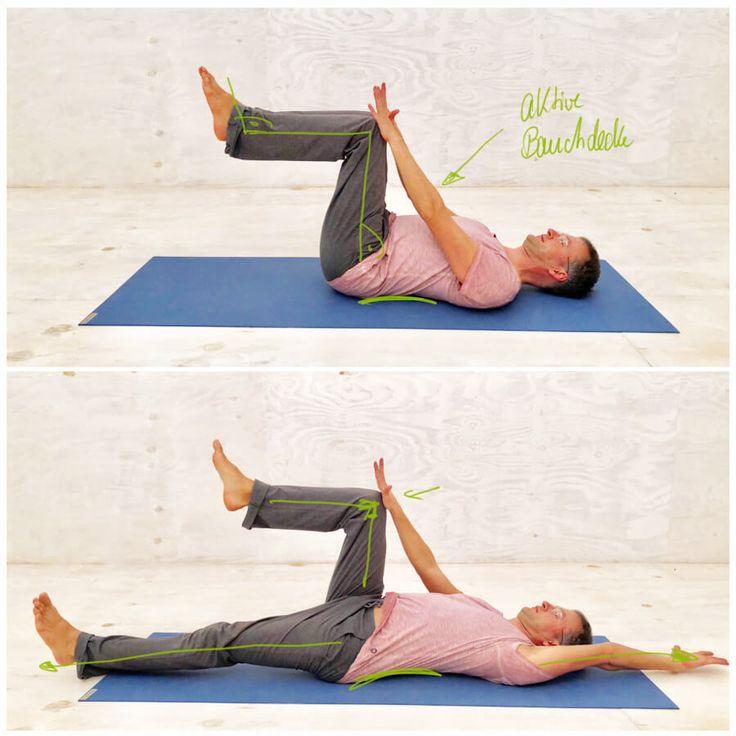 Rückenschmerzen unterer Rücken - Bauchmuskeln stärken..