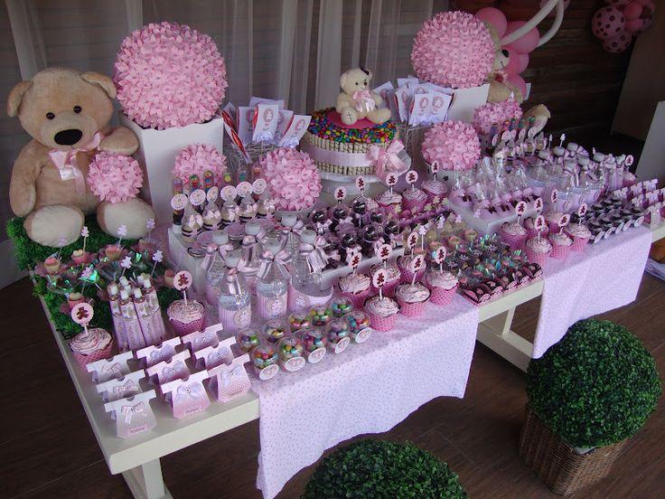 Ideias para festas e Chá de bebe: Chá de bebe Ursinho