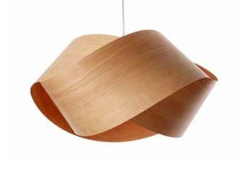 Lampara De Madera Colgante Techo Diseño En Madera, Original - $ 500,00