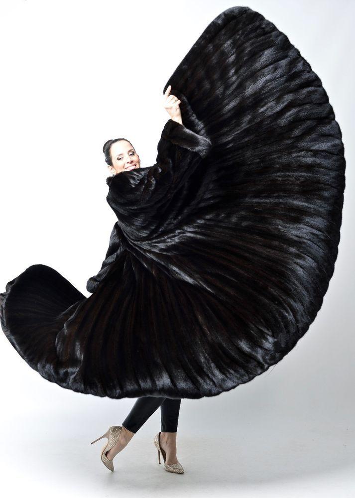 real Blackglama Mink fur coat full length females nerz vison норковая шуба XXL  | Clothing, Shoes & Accessories, Women's Clothing, Coats & Jackets | eBay!