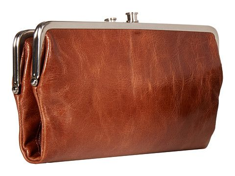 Hobo Lauren Wallet - Brown Leather