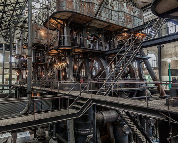 Steampunk || Col. Ward Pump Station in Buffalo, New York