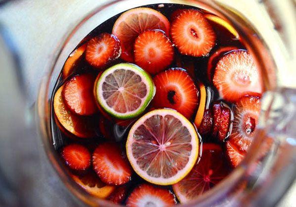 Сангрия из красного сухого столового вина. Рецепт приготовления блюда