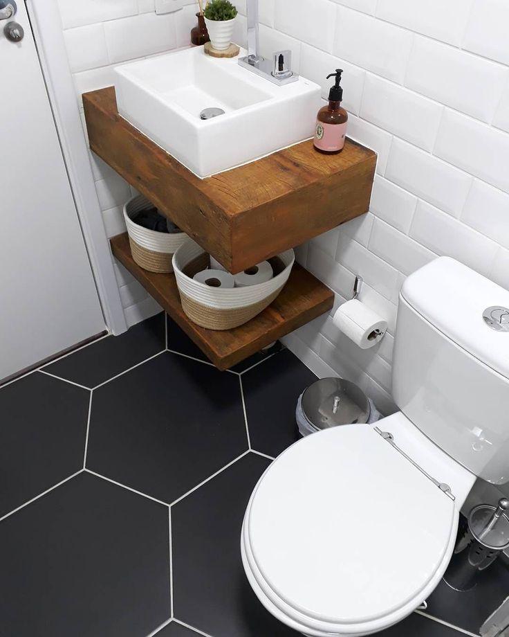 Kleine Toilettenspitzen zur Maximierung eines kompakten Raums – Naomi Lemons