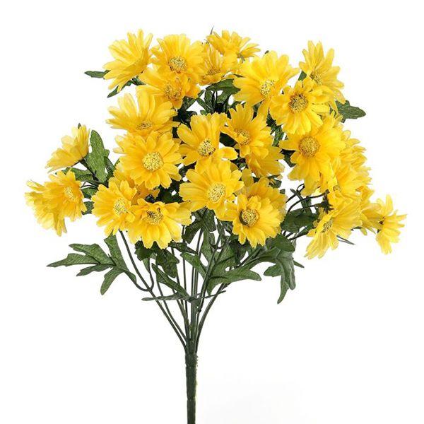 Bouquet de marguerites jaunes 17''