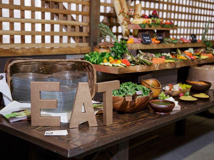 Cool Salad Bar Display I Said Oui Pinterest Salad