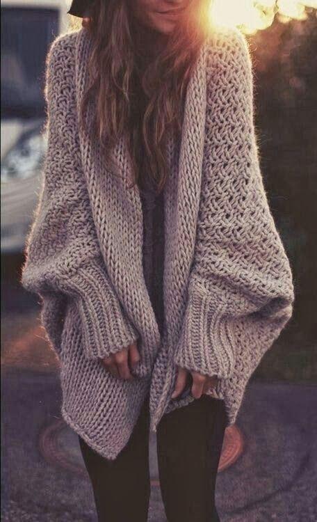 Adictaaloscomplementos: Ideas, inspiración, Moda: Outfits con chaquetas de lana o punto
