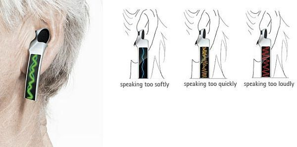 Hearing aids that make a loud style statement | Designbuzz : Design ideas and concepts