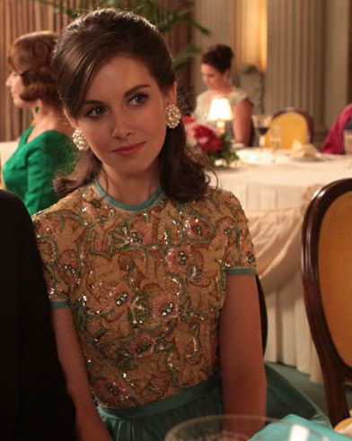 Trudy Campbell (played by the AH-MAZING Alison Brie)