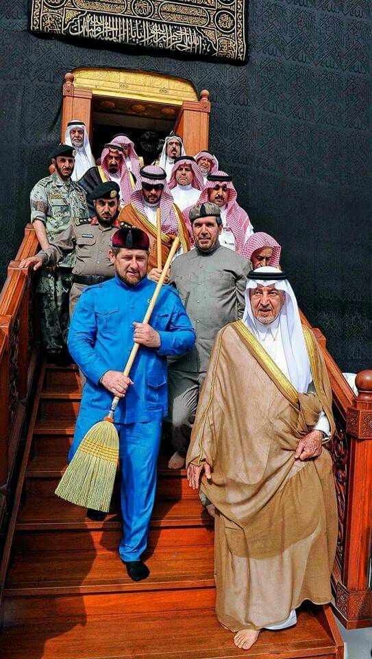 The world leaders gather to clean the kabah # Mecca