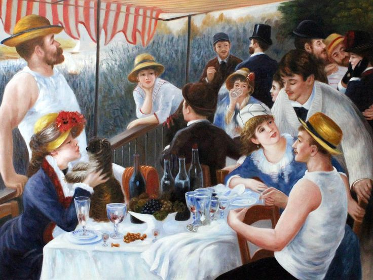 Where's the Lunch? Looking at Renoir's Luncheon of the Boating Party