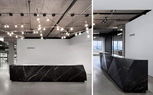 M s de 1000 ideas sobre mostrador de recepci n en - Mostradores para oficinas ...