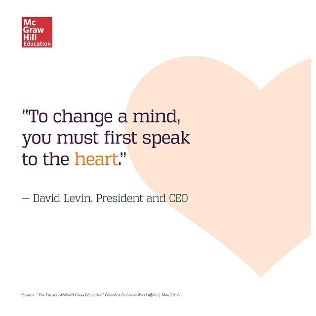 Presenting facts is not enough to initiate change. Finding common ground is key.  #change #heart #leadership #thoughtleadership #ceo #changeamind #speak #speaktotheheart #commonground #mutualrespect #changeyourmind #facts #culture #business #leader