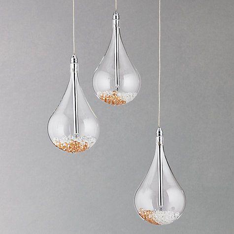 John Lewis £195  Sebastian 3 Light Drop Ceiling Light