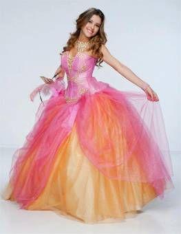 fotos de vestidos de mis xv - Buscar con Google